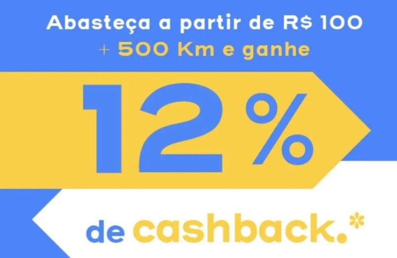 Abastece Aí 12% cashback