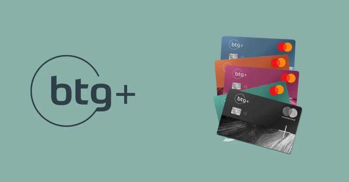 BTG+ cartões personalizados