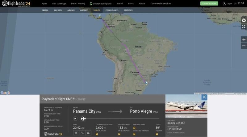 Copa Airlines Porto Alegre