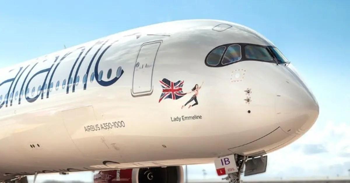 Virgin A350 Dia da Mulher