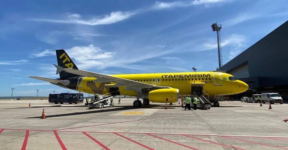 Itapemirim voos certificação