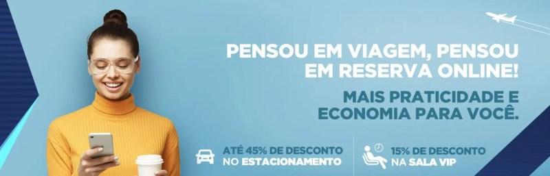 Aeroporto Belo Horizonte estacionamento