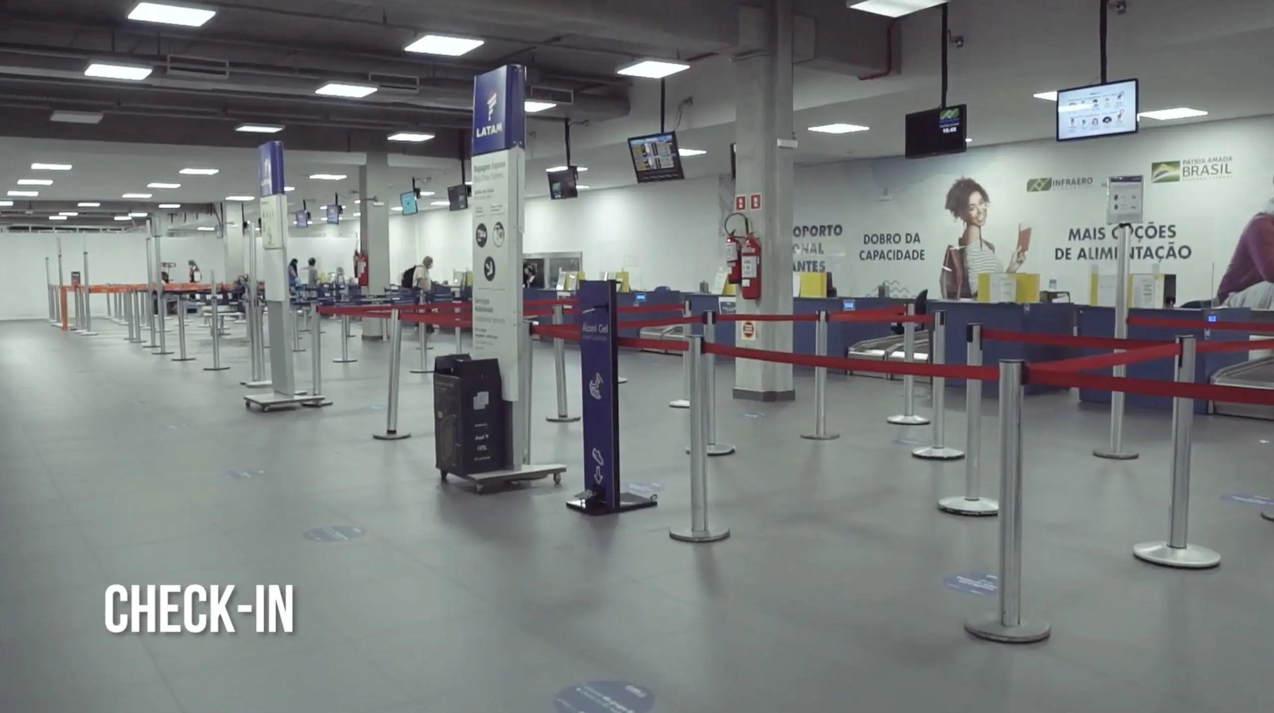 Aeroporto Navegantes terminal passageiros
