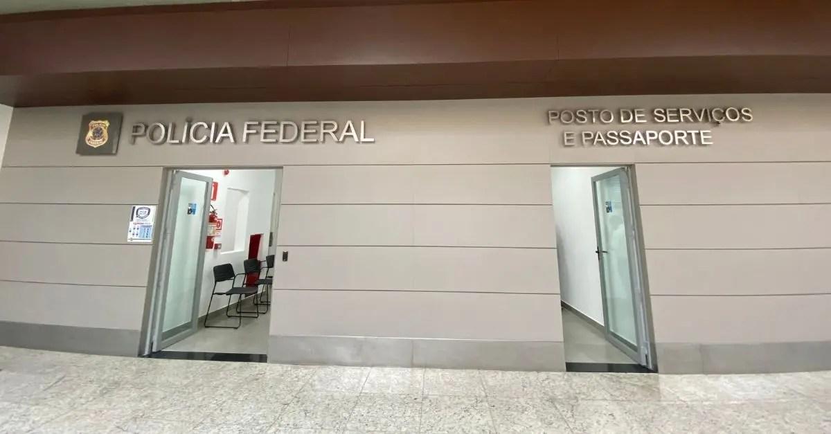 Polícia Federal passaporte BH