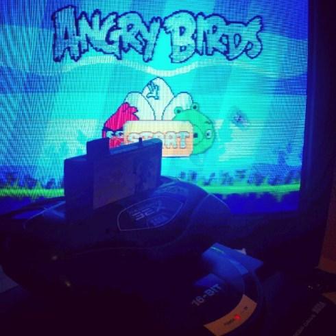 Angry Birds - Mega Drive