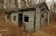 Casa abandonada. Assustadora
