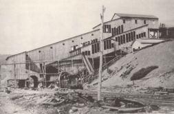 Antiga mina de Centralia, foto de 1894
