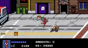 Double Dragon IV - rua