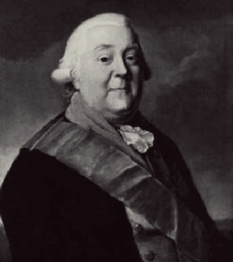 Baron Friedrich Adolf Riedesel, ca 1790. Courtesy of the Library of Congress.
