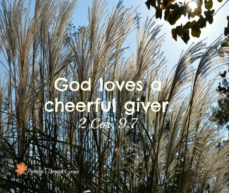 2 Cor 9-7
