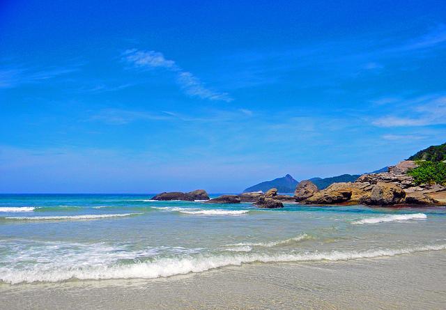 Praia de Ilha Grande maravilhosa