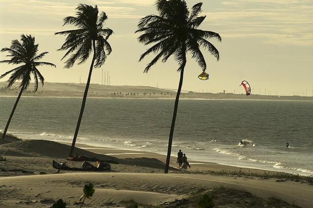 praias de cumbuco e caucaia, no Brasil