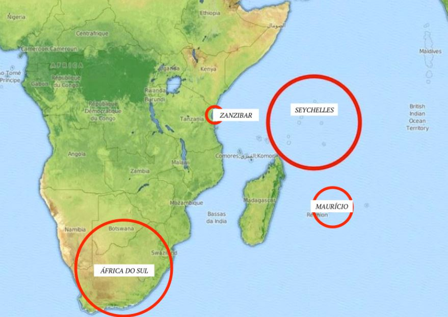 ilhas seychelles onde fica no mapa Ilhas Seychelles: onde fica este verdadeiro paraíso ilhas seychelles onde fica no mapa