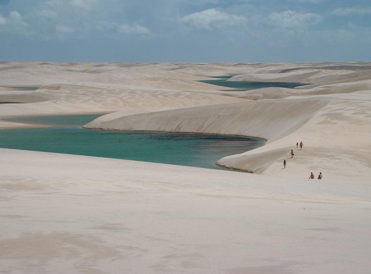 Lencois Maranhenses – lagoa bonita – Fred Schinke