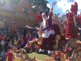 Parada de Natal na Noeland