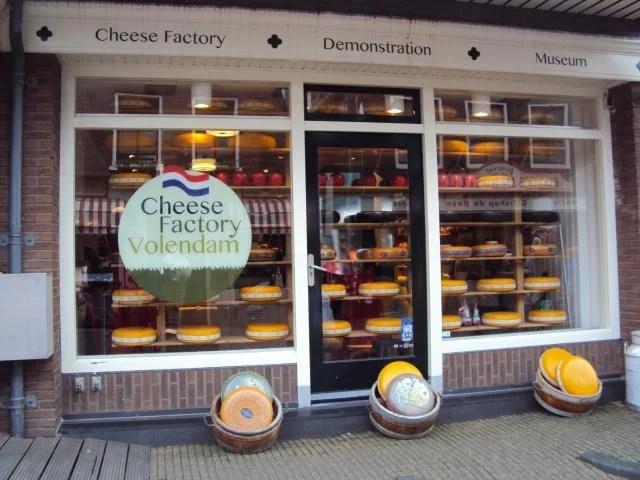 Fábrica de queijo