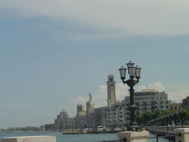 Lungomare em Bari