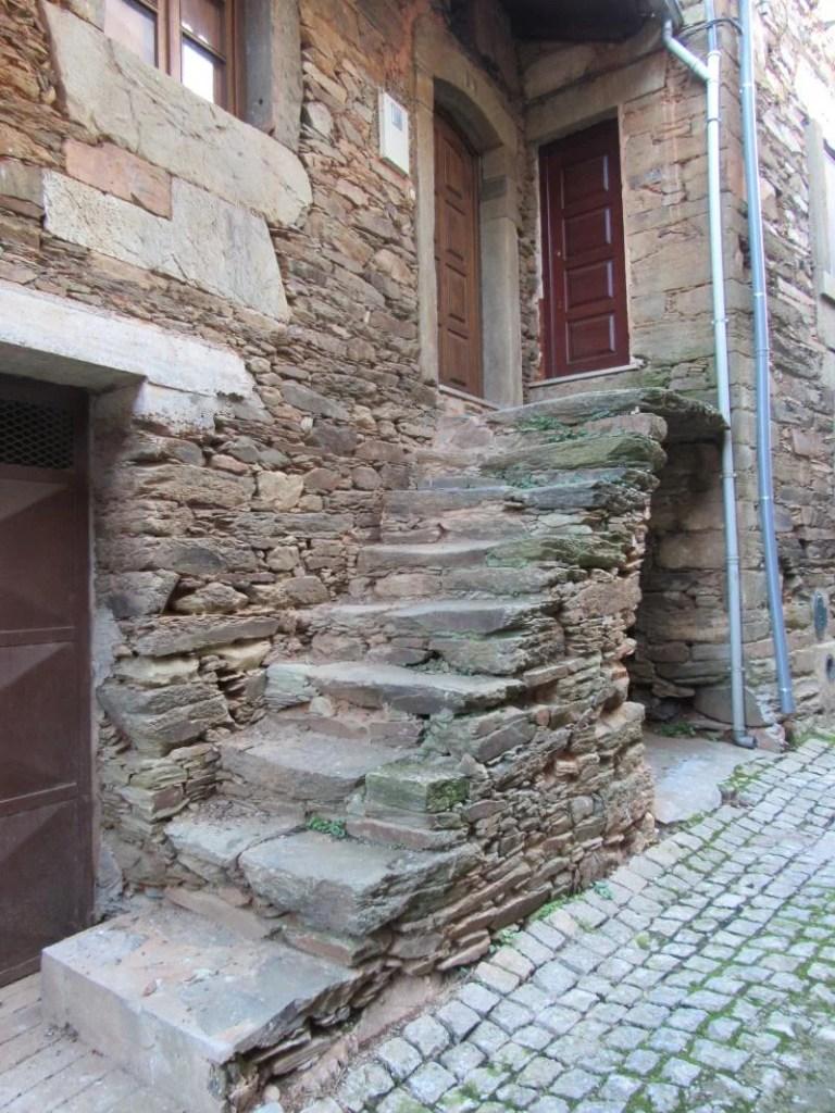 Casas de xisto na Barroca