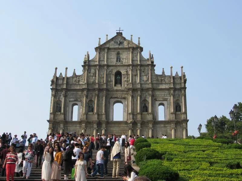 Ruínas da igreja de São Paulo em Macau