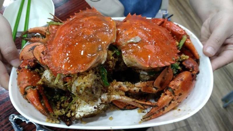 Spicy crab restaurant
