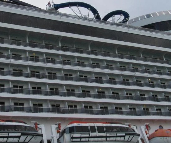 como escolher a melhor cabine num navio