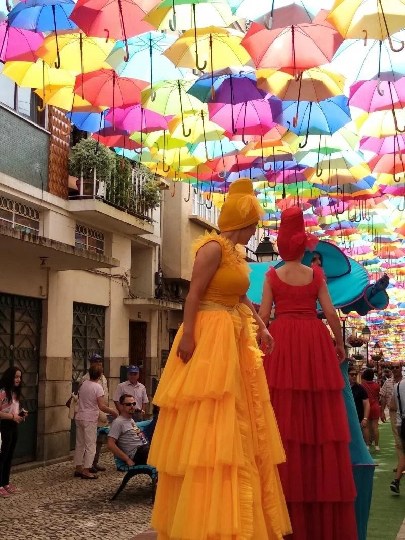 Diversão colorida em Portugal