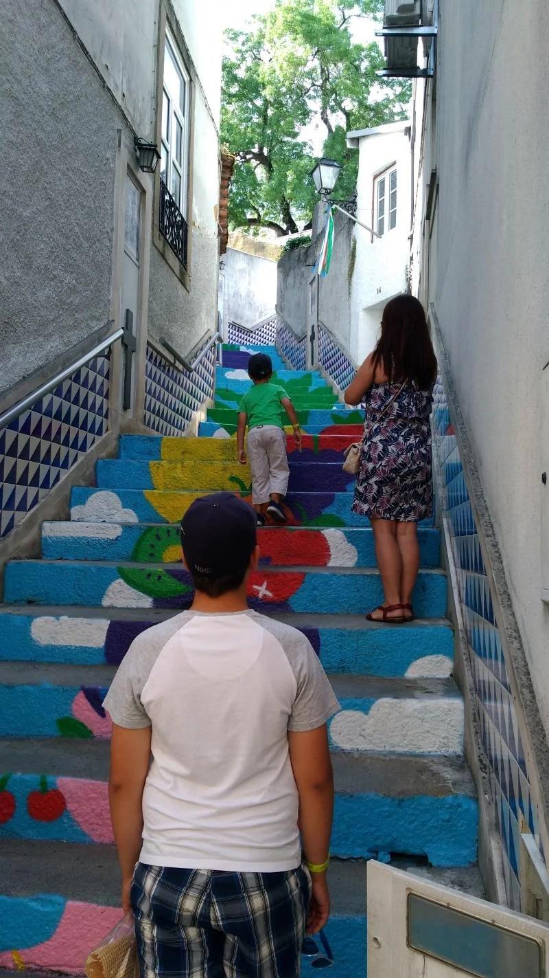 Ruas coloridas