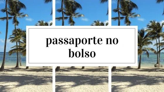passaporte no bolso