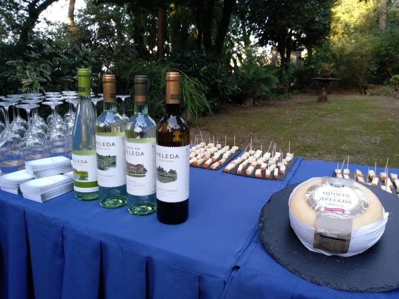 Queijo e vinho verde
