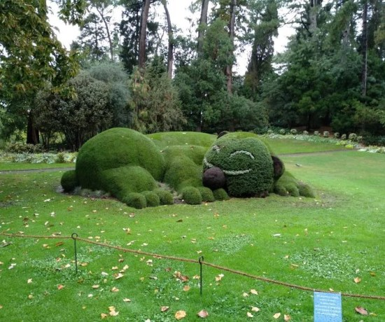 Jardin des plantes em nantes