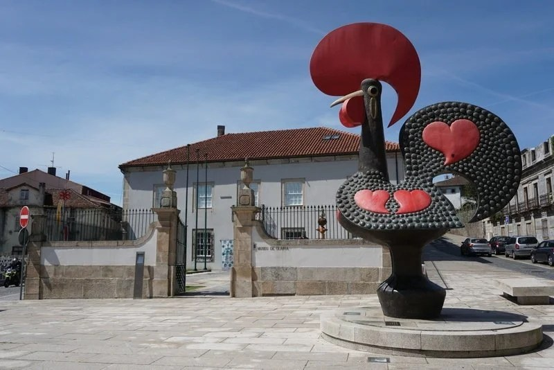 escultura do galo de Barcelos