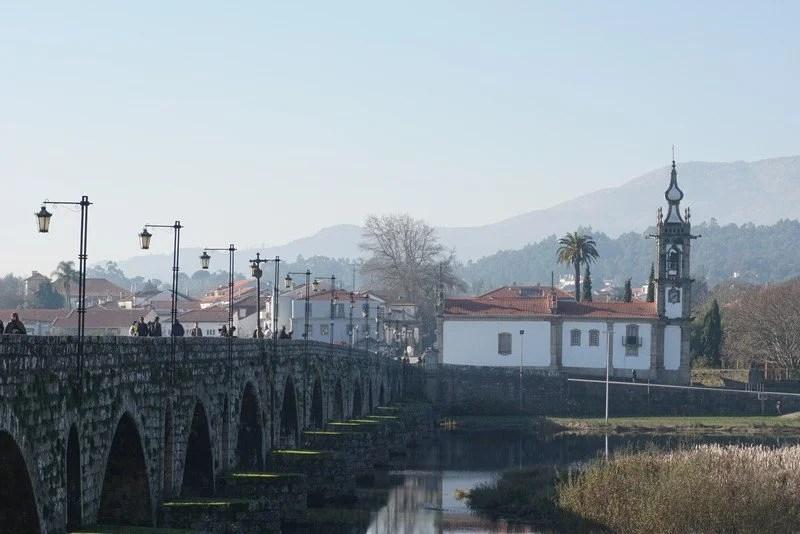 A ponte de ponte de lima