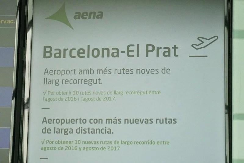 Aeroporto El Prat Barcelona