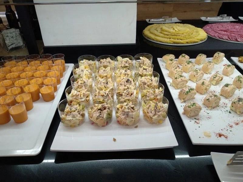 buffet de frios do Palas Pineda