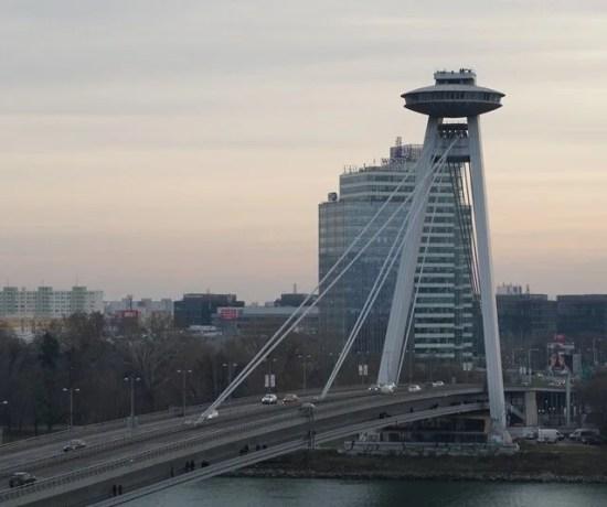 O que visitar em Bratislava: UFO