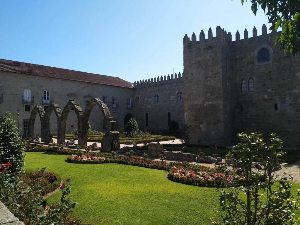 Jardim de Santa Bárbara em Braga