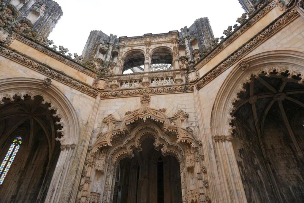 Interior das Capelas Imperfeitas.