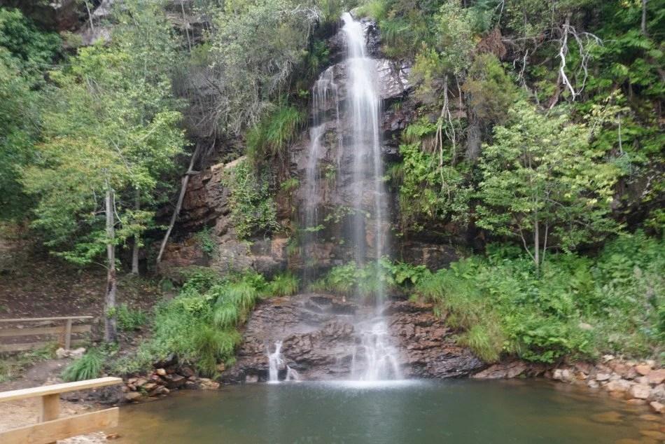 Cascata da Fraga de Água d'Alta.