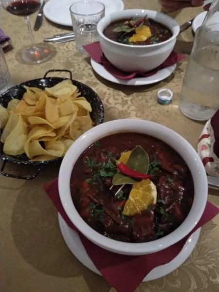 Restaurante Cabra Preta em Castelo Branco.
