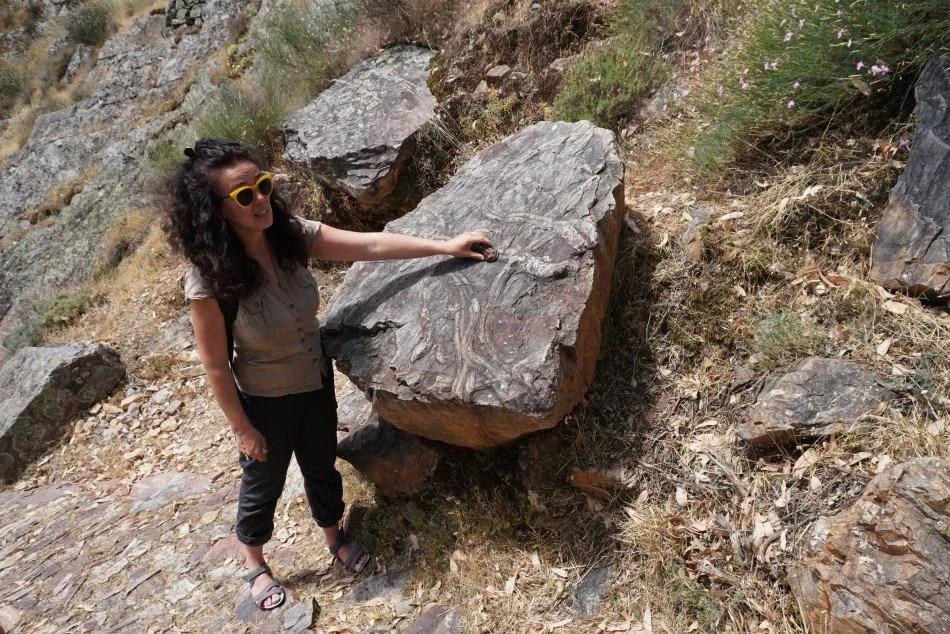 Rota dos Fósseis em Penha Garcia.