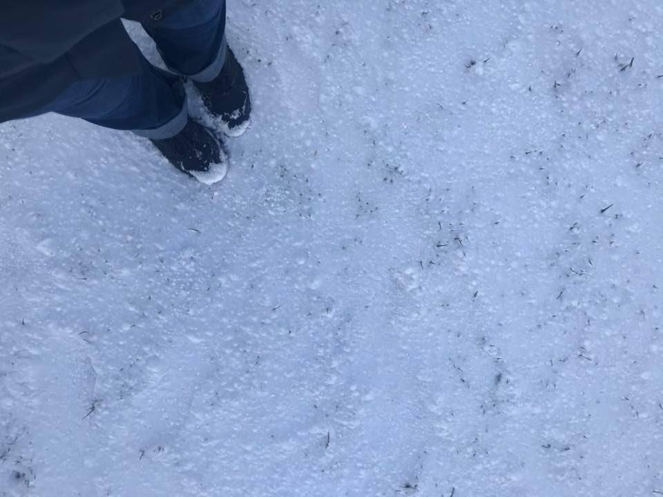 nevicata in Irlanda