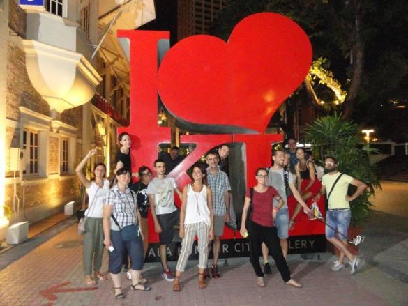 malesia in gruppo