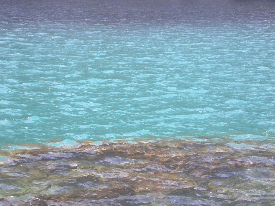 Agua tranparente de montaña - Eau transparente des montagnes