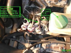 Power Steering Fluid Flush  PassatB5