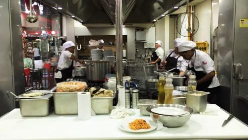 El Galeon - Cozinha