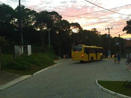 Linha de Ônibus - Centro/Mirante