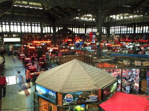 Mercado Central - Vista do El Galeon