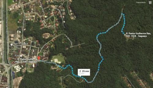Mapa - Morro do Boa Vista