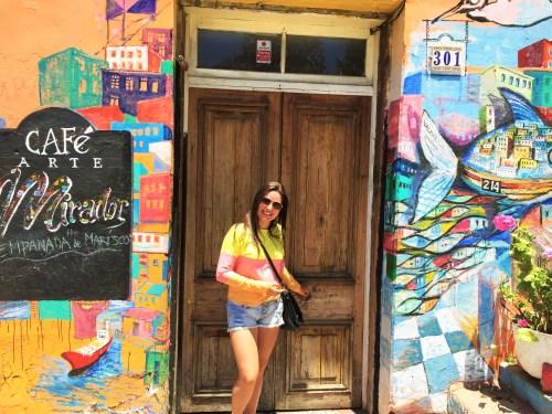 Valparaiso e suas casinhas coloridas
