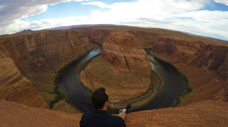 Horseshoe Bend Overlook no Arizona
